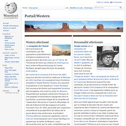 Portail:Western