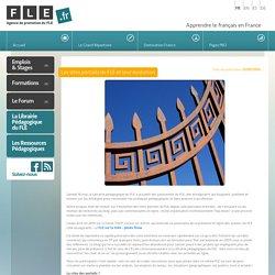 Les sites portails de FLE et leur évolution