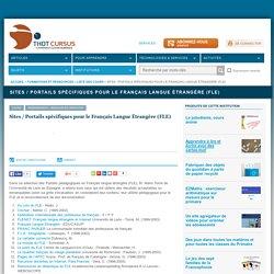 Sites / Portails spécifiques pour le Français Langue Étrangère (FLE)