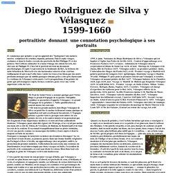 Diego Velasquez portaitiste donnant connotation psychologique a ses portraits