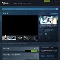 Portal 2 på Steam