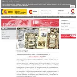 Portal Web AECID Biblioteca Digital