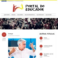 Portal do Educador - Crenças
