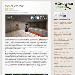Portal Gun Mod | Minecraft Mods