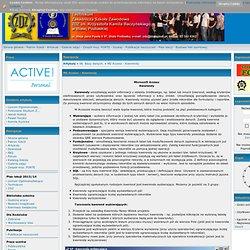 Portal informacyjny szkół ZDZ - Artykuły: MS Access - Kwerendy