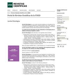 Portal de Revistas Científicas de la UNED