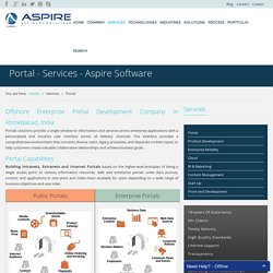 Portal - Services - Aspire Software