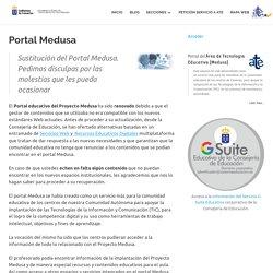 Portal Medusa » Área de Tecnología Educativa