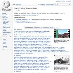 Portal:Film/Themenliste