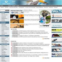 Portal de la Universidad del País Vasco (UPV/EHU)