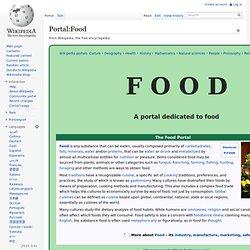 Portal:Food