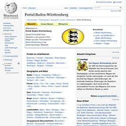 Portal:Baden-Württemberg