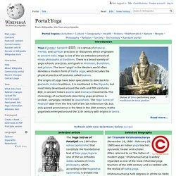 Portal:Yoga