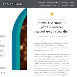 """""""Covid-19 e cuore"""": il portale web per supportare gli specialisti"""