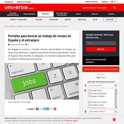 Portales para buscar un trabajo de verano en España y el extranjero