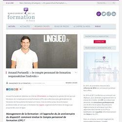 Arnaud Portanelli : « le CPF responsabilise l'individu »