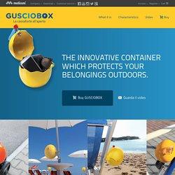 Meliconi - Gusciobox portaoggetti, da spiaggia, da bici, da passeggino