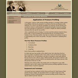 - Application of Pressure Profiling
