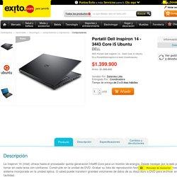 Portatil Dell Inspiron 14 3443 Core i5 Ubuntu -Compras por Internet