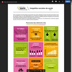 Porte-clés des Inégalités sociales de santé / Ireps Pays de la Loire, novembre 2019