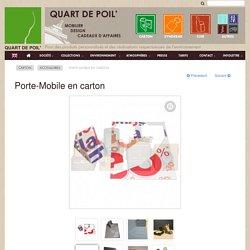 1/4 de poil Porte-Mobile carton meubles-accessoires (commercial)- F
