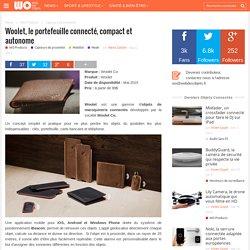 Woolet, le portefeuille connecté, compact et autonome