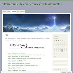 e-Portefeuille de compétences professionnelles