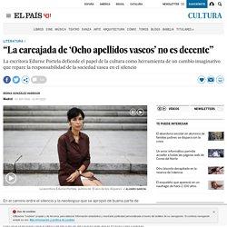 "Edurne Portela: ""La carcajada de 'Ocho apellidos vascos' no es decente"""