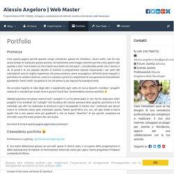 Portfolio - Alessio Angeloro