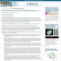 @ Brest - Le portfolio pour évaluer les apprentissages des étudiant-e-s