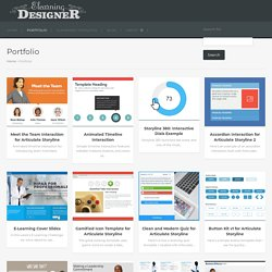 Portfolio Archive - E-learning Designer