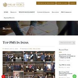 Top PMS In India ; Top Portfolio Management Services in India