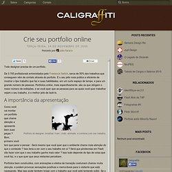 Crie seu portfolio online