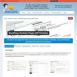 Free Portfolio Plugin (WP Portfolio) for WordPress