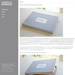 New Portfolio Book & Case / LINCOLN BARBOUR PHOTO