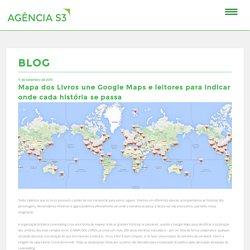 Mapa dos Livros une Google Maps e leitores para indicar onde cada história se passa - Portfolio