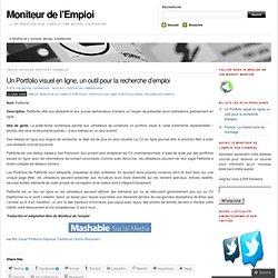 Un Portfolio visuel en ligne, un outil pour la recherche d'emploi « Moniteur de l'Emploi