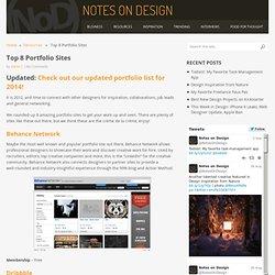 Top 8 Portfolio Sites