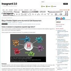 Blog e Portfolio Digitali come strumenti di Self-Assessment