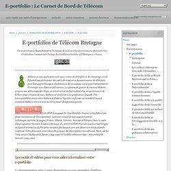 Course: E-portfolio : Le Carnet de Bord de Télécom Bretagne