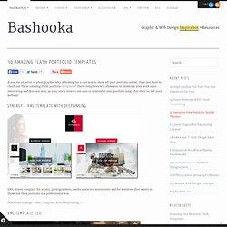 Flash Portfolio Templates