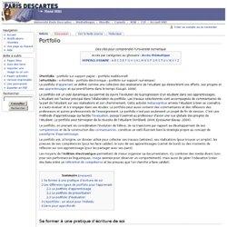 Portfolio Wiki
