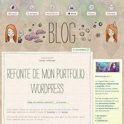 Refonte de portfolio sous WordPress: astuces et plugins