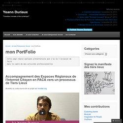 monPortFolio « Yoann Duriaux