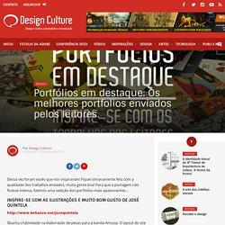 Portfólios em destaque: Os melhores portfolios enviados pelos leitores. – Design Culture