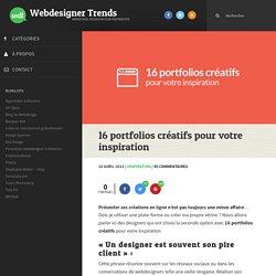 16 portfolios créatifs pour votre inspiration