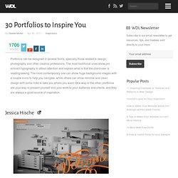 30 Portfolios to Inspire You