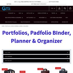 Where to buy portfolio binder