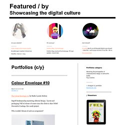 Portfolios projects — Featured / by