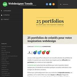 25 portfolios de créatifs